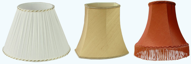 Fabric lamp shades aloadofball Image collections